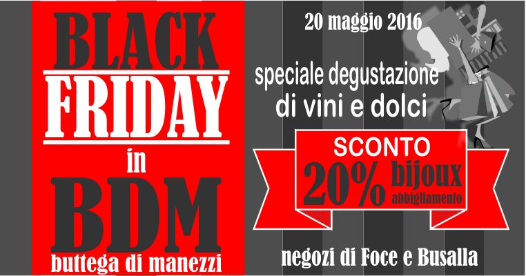 BDM Genova Black Friday