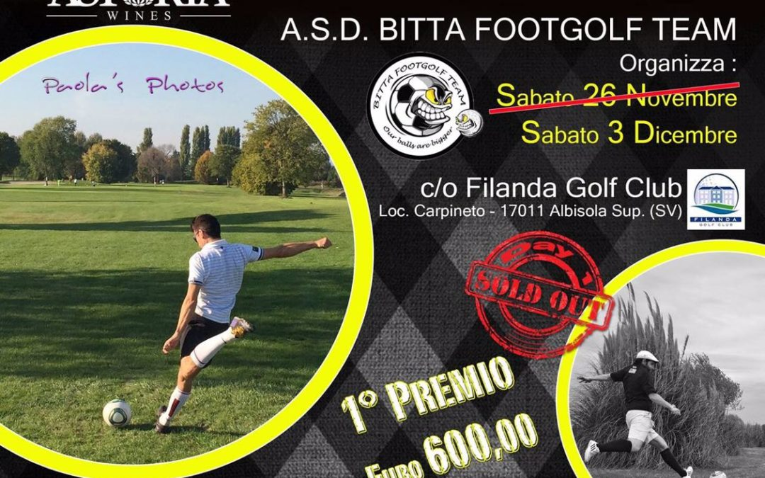 Evolution Footgolf Cup Filanda Golf Club