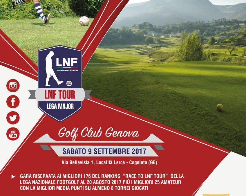 LNF Tour 2017: al Golf Club Genova St. Anna è tutto pronto per il 6° Torneo Lega Major