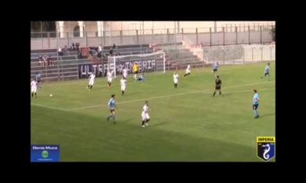 VIDEO: IMPERIA – PIETRA LIGURE 3-2. Coppa Italia 19/09/17