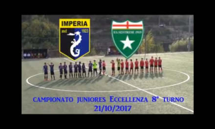 VIDEO: Imperia-Sestrese 0-2. Campionato JUNIORES