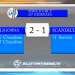 VIDEO, LIGORNA – SCANDICCI 2-1, Serie D Girone E, 23^ giornata