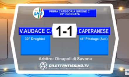 VIDEO: V.A.CAMPOMORONE – CAPERANESE 1-1, Interviste, 1^ Categoria C