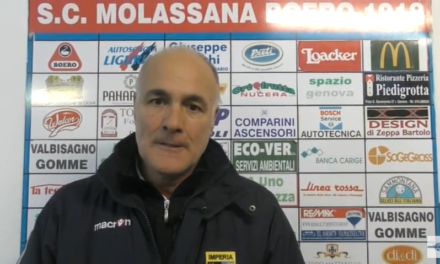 VIDEO Molassana-Imperia 1-3: Le interviste post partita