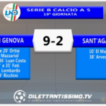 VIDEO – Gli highlights di Cdm Genova-Sant'Agata 9-2