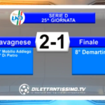 VIDEO – Serie D 25^ giornata: Gli highlights di Lavagnese-Finale 2-1