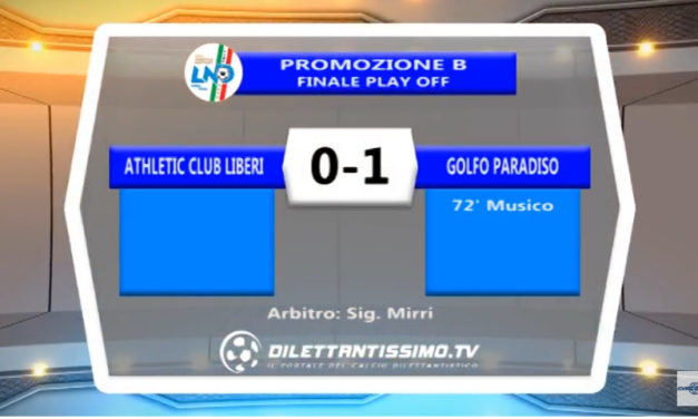 VIDEO Promozione B – Playoff: Gli highlights di Athletic Club-Golfo Paradiso