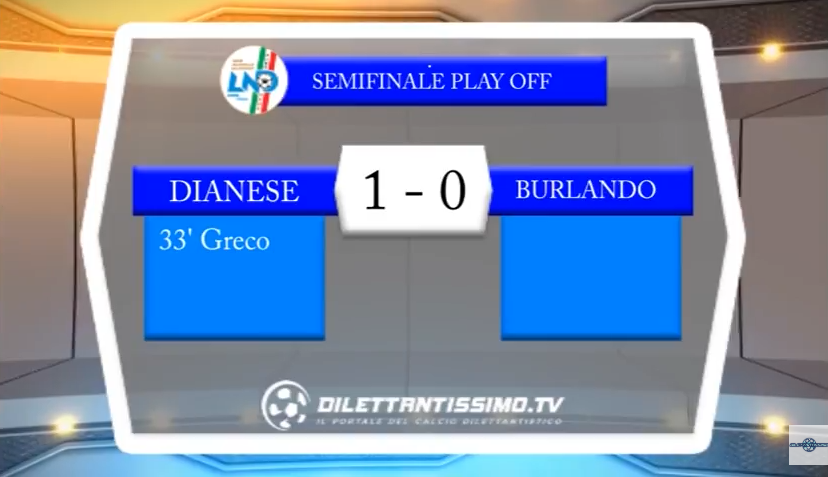 VIDEO – Prima Categoria: Guarda gli highlights di Dianese&Golfo-Burlando 1-0
