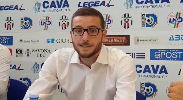 SAVONA CALCIO: presentato il nuovo responsabile marketing VIDEO