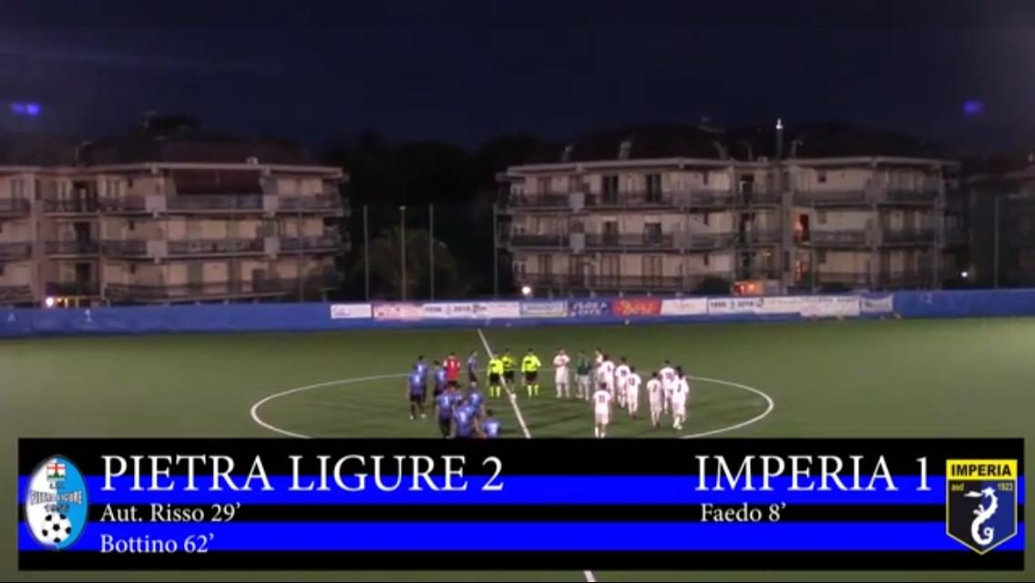 VIDEO – La sintesi di Pietra Ligure-Imperia 2-1