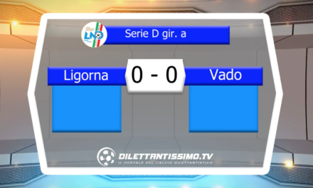 VIDEO – LIGORNA-VADO 0-0: le immagini del match