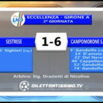 VIDEO – SESTRESE-CAMPOMORONE 1-6: le immagini del match e le interviste post partita