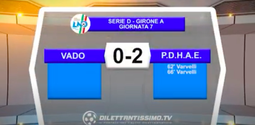 VIDEO| VADO-PONTDONNAZ 0-2: LE IMMAGINI DEL MATCH E LE INTERVISTE