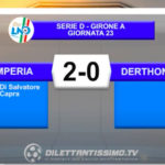 VIDEO|IMPERIA-DERTHONA 2-0: LE IMMAGINI DEL MATCH E LE INTERVISTE