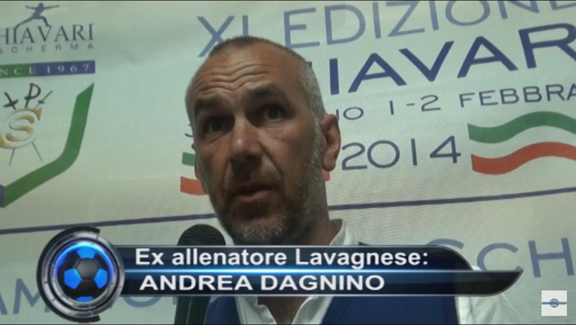 """ANDREA DAGNINO: intervista esclusiva. """"NON ANDRÒ ALLO SPEZIA"""" la separazione dalla Lavagnese, il suo successore…"""