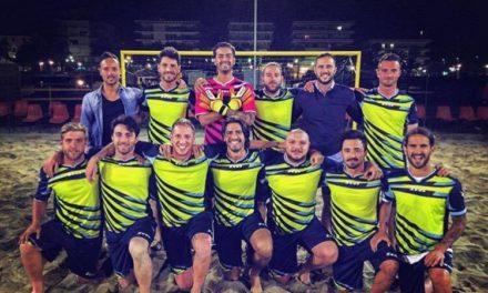 Ottavi di finale spettacolo alla Liguria Beach Soccer Cup !