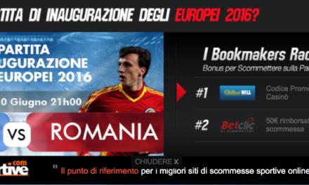 scommesse sportive .com Migliori Quote e Opportunità Scommesse Euro 2016