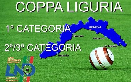 COPPA LIGURIA: tutti i risultati dei 18 gironi liguri