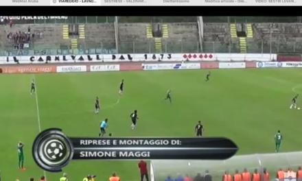 VIDEO: VIAREGGIO-LAVAGNESE 3-2. Serie D Girone E. Un grazie a Francesco Rizzo