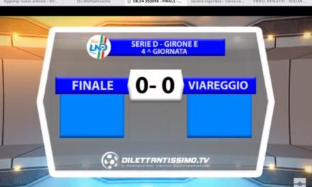VIDEO: FINALE – VIAREGGIO 0-0. Serie D Girone E 2016/2017