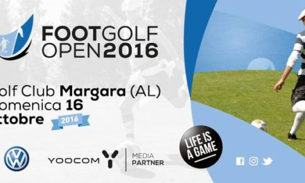VOLKSWAGEN FOOTGOLF OPEN  Domenica 16 Ottobre 2016 Golf Club Margara – (AL)