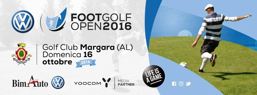 VOLKSWAGEN FOOTGOLF OPEN  Domenica 16 Ottobre 2016 Golf Club Margara – (AL)