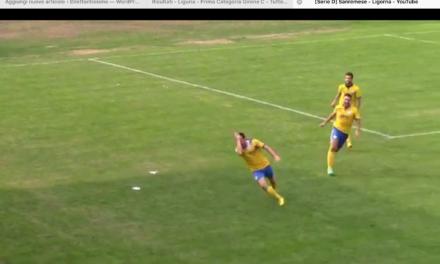 VIDEO: U.SANREMO – LIGORNA 3-3. Serie D Girone E