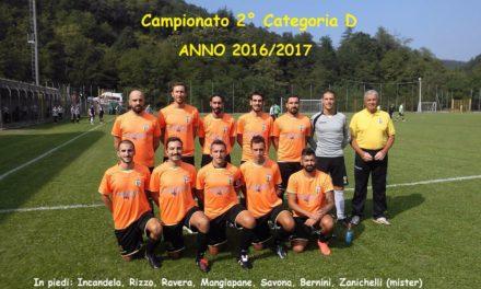 2 Categoria Girone D: 26^ ultima giornata. retrocede la SARISSOLESE tutti gli accoppiamenti Play off e Play out