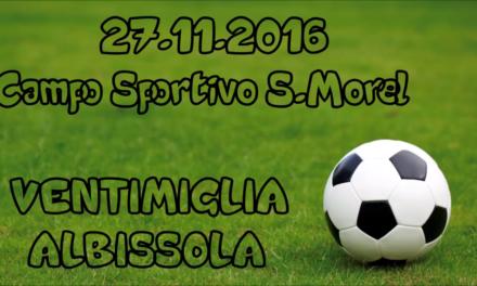 VIDEO: VENTIMIGLIA-ALBISSOLA 3-2. ECCELLENZA 12ª Giornata