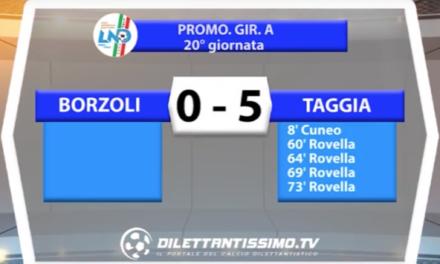 Borzoli Taggia Promozione Gir.A
