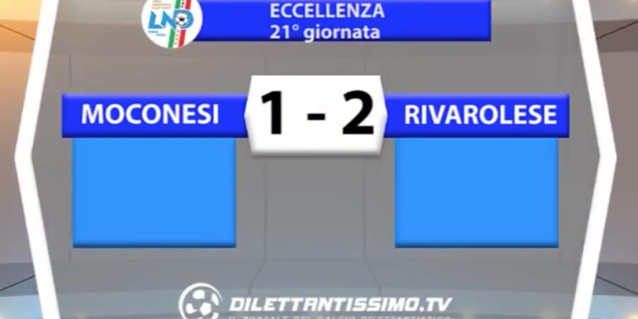 MOCONESI – RIVAROLESE 1-2 | ECCELLENZA LIGURE