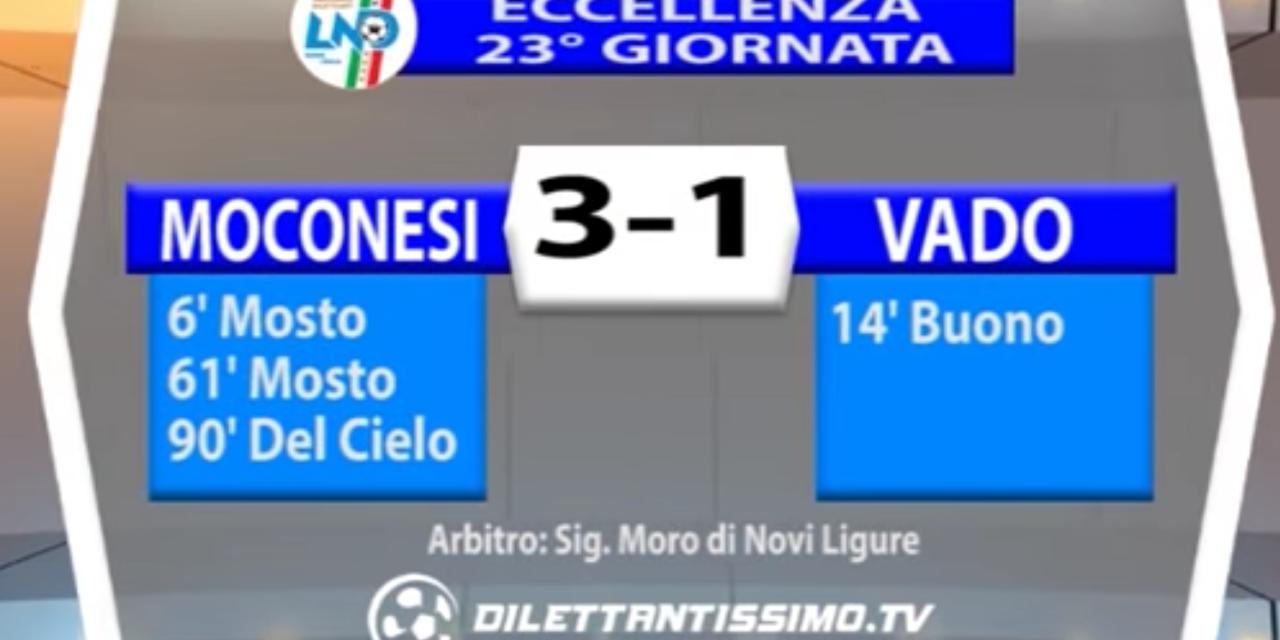 MOCONESI – VADO 3-1 | ECCELLENZA LIGURE