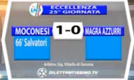 MOCONESI – MAGRA AZZURRI 1-0 | ECCELLENZA
