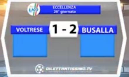 VOLTRESE – BUSALLA 1 – 2 | ECCELLENZA LIGURE