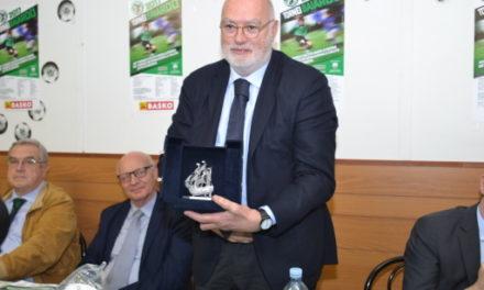Ad Antonio Gozzi e la Virtus Entella il 38° Premio Gambaro del Baiardo