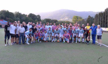 BARSACCHI: l'addio al calcio con molti eroi del passato