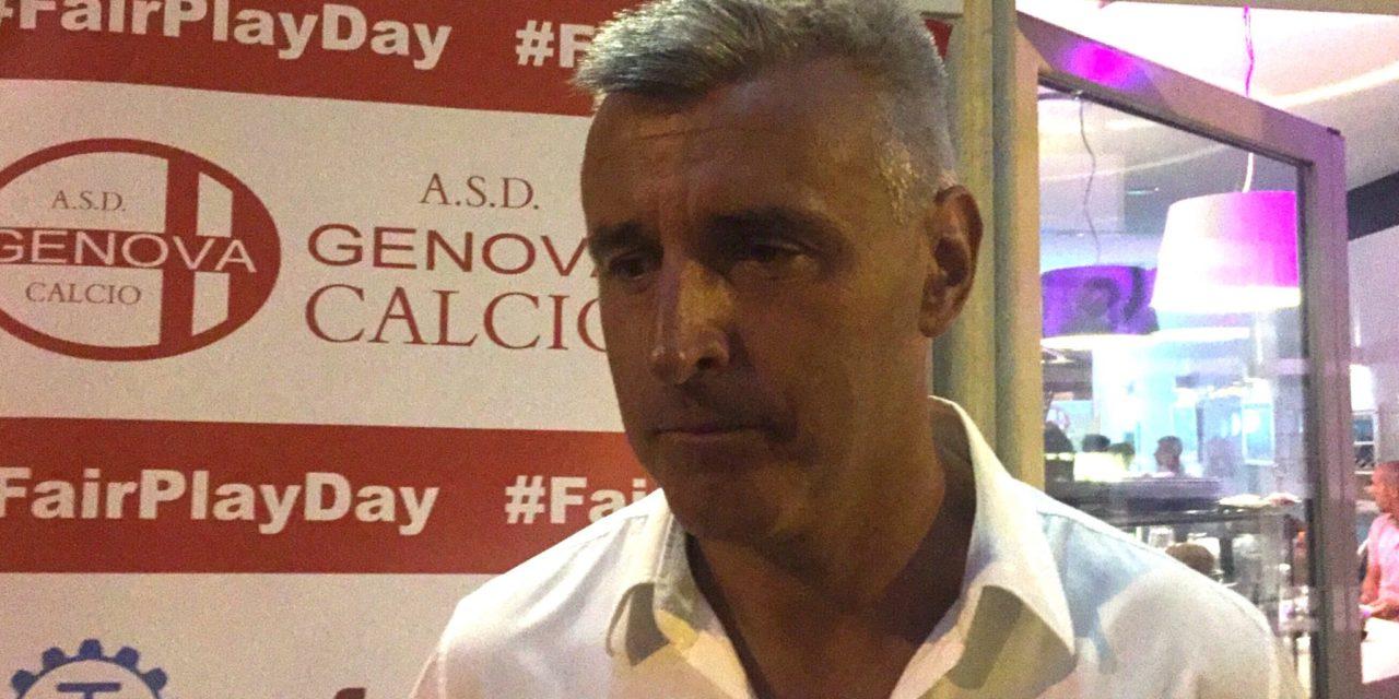 Genova Calcio, parla mister Podestà: «Contro il Serra ho visto quella grinta che vorrei sempre dai miei ragazzi»