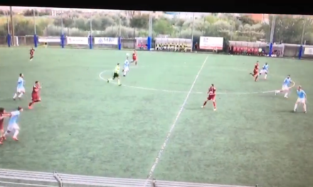 VIDEO. ALBISSOLA-SANREMESE 1-0. Il gol vittoria di Cargiolli