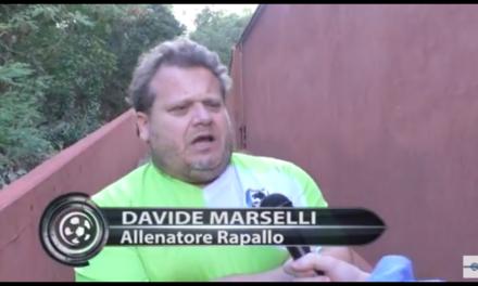 DAVIDE MARSELLI: siamo un po' in ritardo con la preparazione