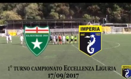 VIDEO: SESTRESE-IMPERIA 1-1. Eccellenza 1ª Giornata