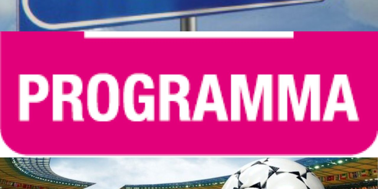 Le modifiche al programma gare del weekend: tutto in Prima Categoria