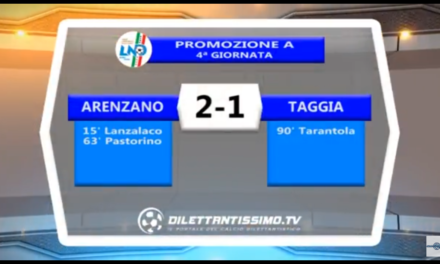 Video: ARENZANO- TAGGIA 2-1. Promozione A.