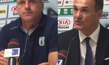 VIDEO CASTORINA/VIVARINI L'intervista dopo ENTELLA- EMPOLI 2-3