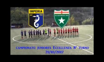 VIDEO: Imperia-Sestrese 0-2. Campionato JUNIORES