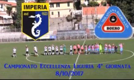 VIDEO: IMPERIA-MOLASSANA 3-1. Eccellenza 4ª Giornata 8/10/2017