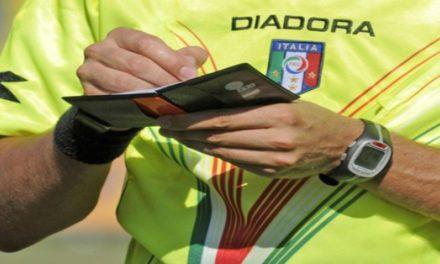 Gli arbitri e gli assistenti della 21a giornata in Serie D