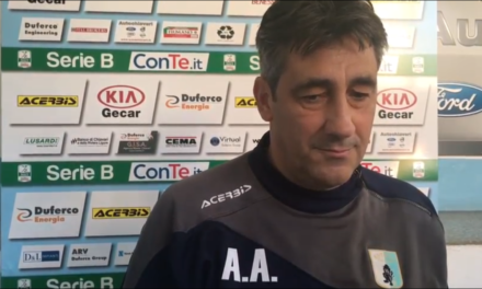 """Verso ENTELLA VENEZIA, Aglietti: """"dovremo essere noi a fare la gara"""""""