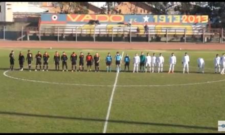 Video: VADO-RIVAROLESE 2-4, i gol.