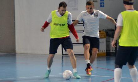Calcio a 5 – Michele Lombardo: «Che bell'effetto essere lassù dopo una settimana così difficile!»