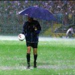 Promozione: i primi rinvii dovuti all'allerta pioggia
